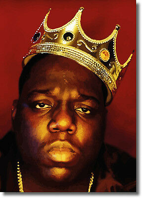 Biggie Smalls Notorious BIG Luke Cage Large CANVAS PRINT  - A0 A1 A2 A3 A4 Sizes