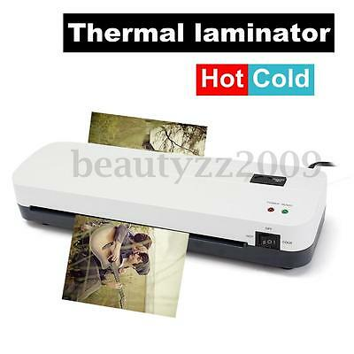 Laminating Machine Laminator A4 Home Office Hot / Cold Roller Thermal Pouch 2016