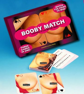 Adult Booby Match - Card Game