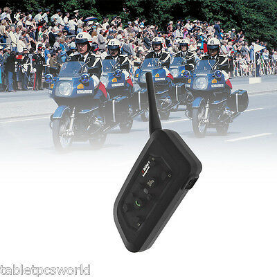 BT Intercomunicador Bluetooth Auriculares Interphone Para Moto 1200M V6-1200 ES