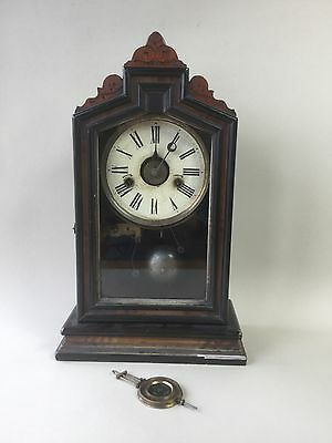 Old American Mantle Alarm Clock