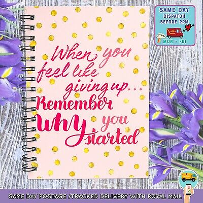 Diet Diary Food Journal Tracker Menu Book Slimming World Usable Weight Loss C1