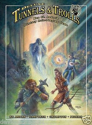 Deluxe Tunnels & Trolls RPG softcover FBI9103