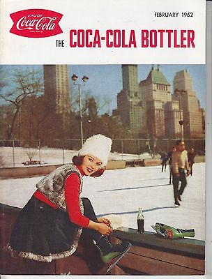 Coca Cola Coke USA Heft Magazin The Bottler - Februar 1962