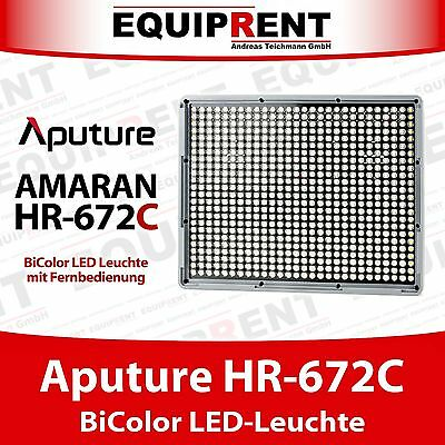 Aputure Amaran HR672C BiColor High CRI 95+ LED Leuchte mit Fernbedienung EQM18