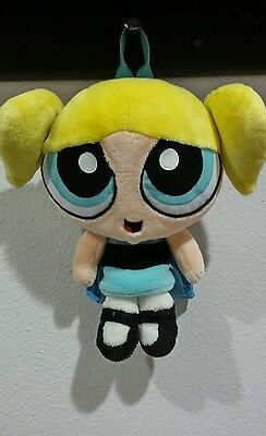 POWERPUFF GIRLS BUBBLES vintage  PLUSH BACKPACK STUFFED DOLL BAG