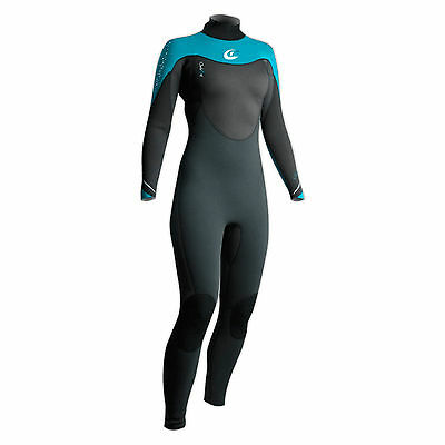 Diva 5.4.3mm Wetsuit Swimming Scuba Diving Surfing Warm Winter Warm Womens Suit