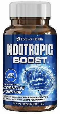 NOOTROPIC BRAIN BOOST -Increase Mental Performance and Memory Ideal Students
