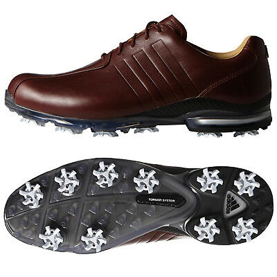 Adidas Mens Adipure Tp Golf Shoes New Leather Waterproof Tour Preferred 2016