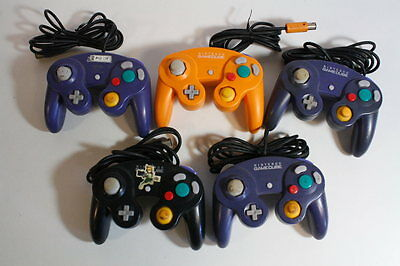 WHOLESALE Lot 5 Official Nintendo Gamecube Controller DOL-003 OEM Wii UNTESTED