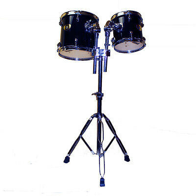 Double tom tom set with stand