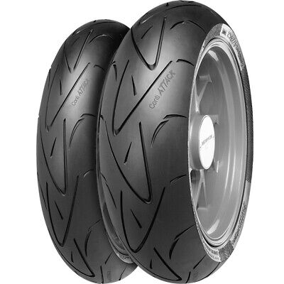 MOTORCYCLE Tyres Continental  CONTI SPORT ATTACK 120/70/ZR17 & 190/55/ZR17 *NEW*
