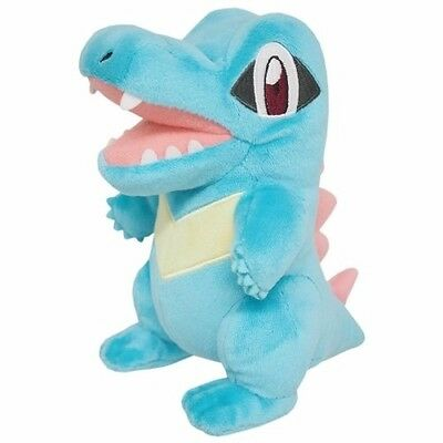 Brand New Sanei Pokemon Go All Star Collection PP42 Totodile Stuffed Plush Doll