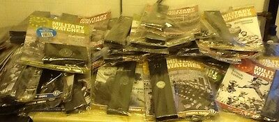 Eaglemoss Military Watches Collection Of 52 (Joblot)