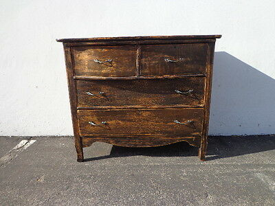 Dresser Antique Country Chest of Drawers French Provincial Vintage Shabby Chic