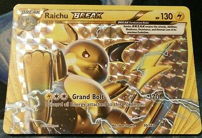 Pokemon TCG: Raichu Break 50/162 XY Breakthrough Near Mint!