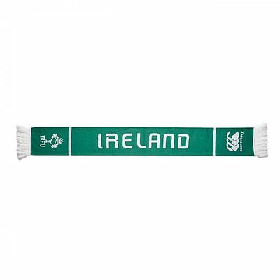 Canterbury Ireland Rugby Supporters Scarf Green 2015-16 - FREE Same day dispatch