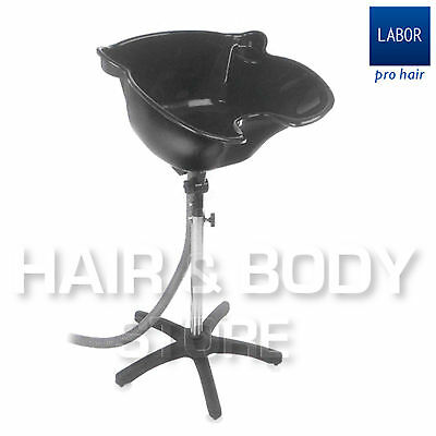 SHAMPOO BASIN PORTABLE GIANT labor hairdresser barber with TUBE OF DRAIN