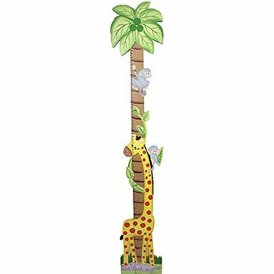 Fantasy Fields by Teamson Sunny Safari Childrens Wooden Jungle Wall Height Chart