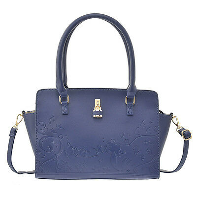 db10 Disney store tote bag Ariel navy KEY TO MY HEART