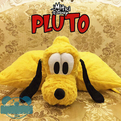 Original Disney PLUTO Plush Pillow Mickey's Pet Dog Soft Stuffed Puppy Doll Gift