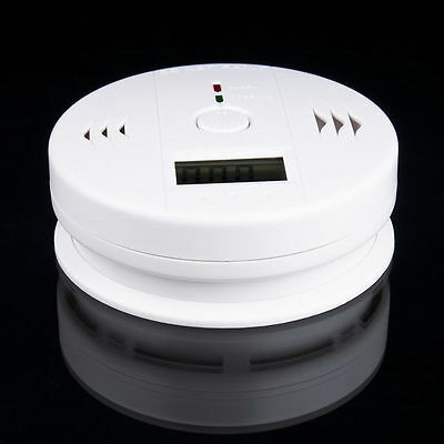 NEW Fire Smoke Sensor Detector Alarm Tester Home Security System Cordless QP