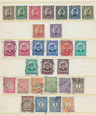 Yugoslavia Stamps Early Lot Mint & Used Stamps