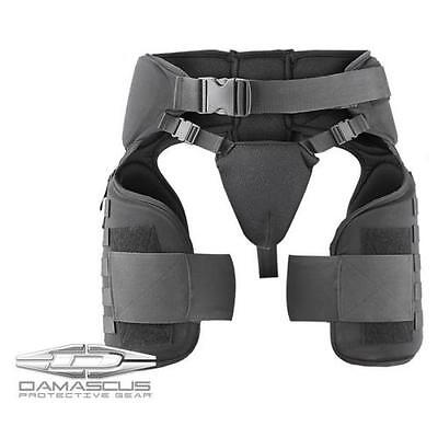 Damascus Worldwide Inc Black Tg40 Imperial Thigh Groin Protective Wear - Tg40