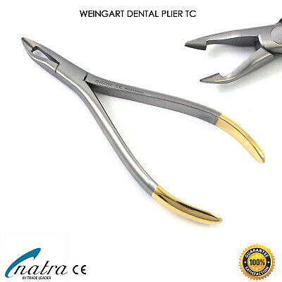 TC Weingart Plier Orthodontic Dental Universal Wire Bending NATRA Germany 14 cm