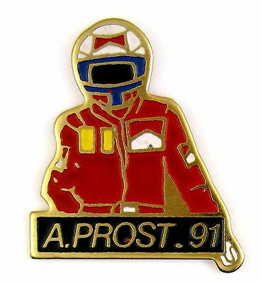 Pins Sport Course Automobile F1 Alain Prost 1991