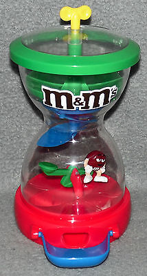 m&m Spender Kaugummiautomat Red Wippe Figur M&M´s 90er m m Automat