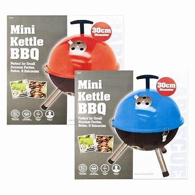 Portable Mini Kettle BBQ Outdoor Grill Charcoal Barbecue