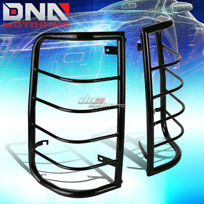 For 99-07 Gm Silverado/sierra Black Coated Steel Tail Light Cage Guard+Mounting