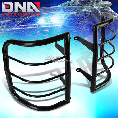 For 96-04 Pathfinder R50 Black Coated Steel Tail Light/lamp Cage Guard+Mounting