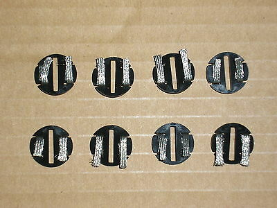 8No BRAND NEW SCALEXTRIC C8329 EYELET DISCS GUIDE PICK UPS / BRAIDS...