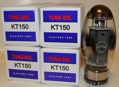 Matched Quad of Tung Sol KT150 tubes, Brand New in Box !  LQQK