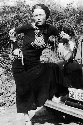 "New 5x7 Photo: Bonnie Parker, Infamous Gangster Outlaw of ""Bonnie and Clyde"""