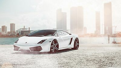 "Lamborghini Luxury Sport Super Race Car Art Silk Wall Poster 32/""x24/"" 067"