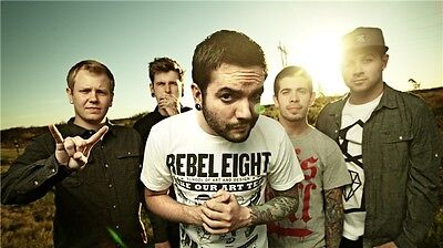"""American Rock Band Music Star 40/""""x24/"""" Poster A12 A Day to Remember"""