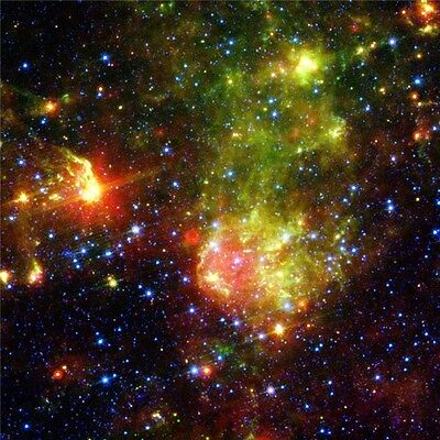 "Galaxy Universe Space Stars Wall Poster 21/""X13/'/'  S13"