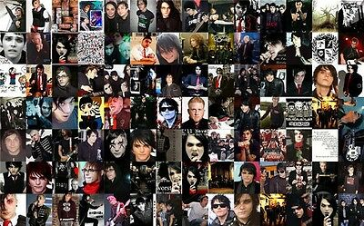 """My Chemical Romance American Rock Band Music Star 32x13/"""" Poster M11"""