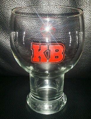 Rare Collectable Kb Lager Beer Glass Brand New Never Used