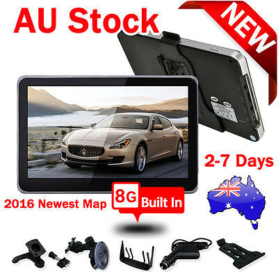 EQUICK 7 Inch Car GPS Navigation Satnav Portable Vehicle GPS Navigator Free Maps