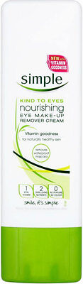 Simple Kind to Eyes Nourishing Eye Make Up Remover Cream (100ml)