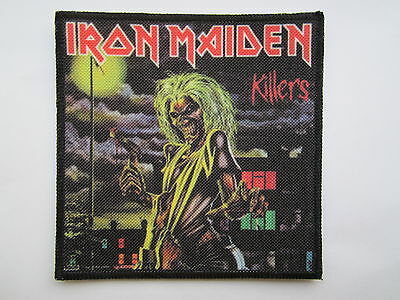 IRON MAIDEN Killers printed NEW patch heavy metal
