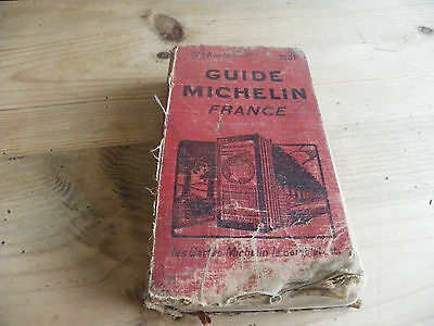 Guide Michelin Rouge France 1931