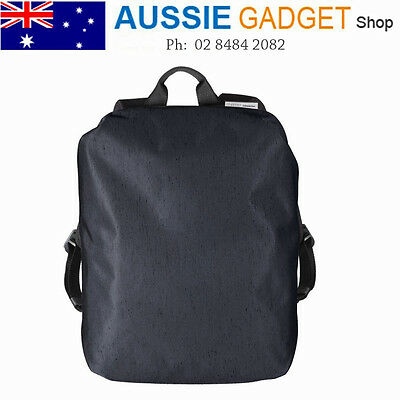 Laptop Backpack Macbook Bag Cote&Ciel Zephyr Midnight Blue with Mustard Accent