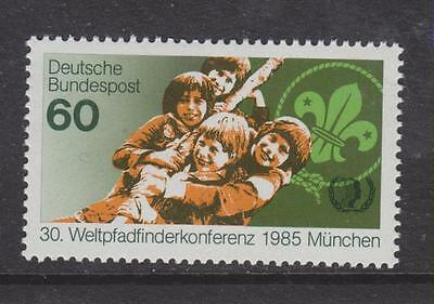1985 West Germany Mnh Stamp Deutsche Bundespost World Scouts Conference  Sg 2102