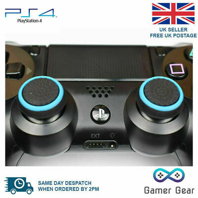 2 x Rubber Thumb Stick Cover Grip PS3 PS4 XBOX One Analog Controller -B&B Stripe