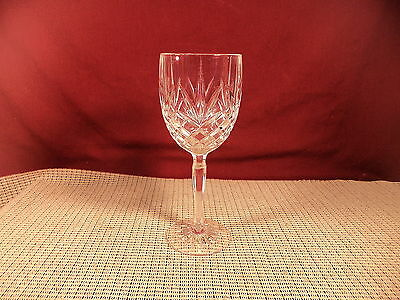 Cristal d'Arques Crystal Provence Pattern Water Goblet 7 5/8""